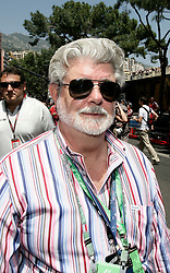 MONTE-CARLO, MONACO - Sunday, May 24, 2009: Film director George Lucas during the Monaco Formula One Grand Prix at the Monte-Carlo Circuit. (Pic by Juergen Tap/Hoch Zwei/Propaganda)