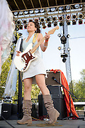 Photos of Stephaniesid performing at LouFest in St. Louis on August 28, 2010.