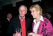 NEIL HAMILTON; CHRISTINE HAMILTON, First night for 'An Ideal Husband' by Oscar Wilde ÐThe play opened at The Vaudeville Theatre with a party after  Kettners, Soho. 10 November 2010. . -DO NOT ARCHIVE-© Copyright Photograph by Dafydd Jones. 248 Clapham Rd. London SW9 0PZ. Tel 0207 820 0771. www.dafjones.com.<br /> NEIL HAMILTON; CHRISTINE HAMILTON, First night for 'An Ideal Husband' by Oscar Wilde –The play opened at The Vaudeville Theatre with a party after  Kettners, Soho. 10 November 2010. . -DO NOT ARCHIVE-© Copyright Photograph by Dafydd Jones. 248 Clapham Rd. London SW9 0PZ. Tel 0207 820 0771. www.dafjones.com.