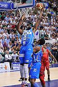 DESCRIZIONE : Campionato 2014/15 Serie A Beko Semifinale Playoff Gara4 Dinamo Banco di Sardegna Sassari - Olimpia EA7 Emporio Armani Milano<br /> GIOCATORE : Shane Lawal<br /> CATEGORIA : Tiro Penetrazione Sottomano<br /> SQUADRA : Dinamo Banco di Sardegna Sassari<br /> EVENTO : LegaBasket Serie A Beko 2014/2015 Playoff<br /> GARA : Dinamo Banco di Sardegna Sassari - Olimpia EA7 Emporio Armani Milano Gara4<br /> DATA : 04/06/2015<br /> SPORT : Pallacanestro <br /> AUTORE : Agenzia Ciamillo-Castoria/L.Canu<br /> Galleria : LegaBasket Serie A Beko 2014/2015