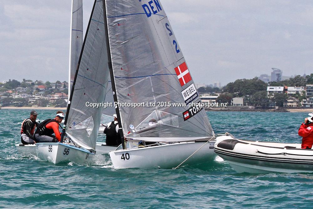 Race 6 Finn Gold Cup Takapuna - Jonas Hogh-Christensen Start