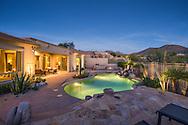 McDowell Mountain luxury real estate photography, Scottsdale, Arizona