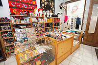 Interior of gift store