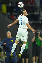 March 21, 2019 - Orlando, Florida, USA - US forward Jordan Morris (11) in action during an international friendly between the US and Ecuador at Orlando City Stadium on March 21, 2019 in Orlando, Florida. ...©2019 Scott A. Miller. (Credit Image: © Scott A. Miller/ZUMA Wire)