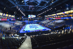 November 16, 2018 - London, United Kingdom - View of the Centre Court during Day Six of the Nitto ATP Finals at The O2 Arena on November 16, 2018 in London, England. (Credit Image: © Alberto Pezzali/NurPhoto via ZUMA Press)