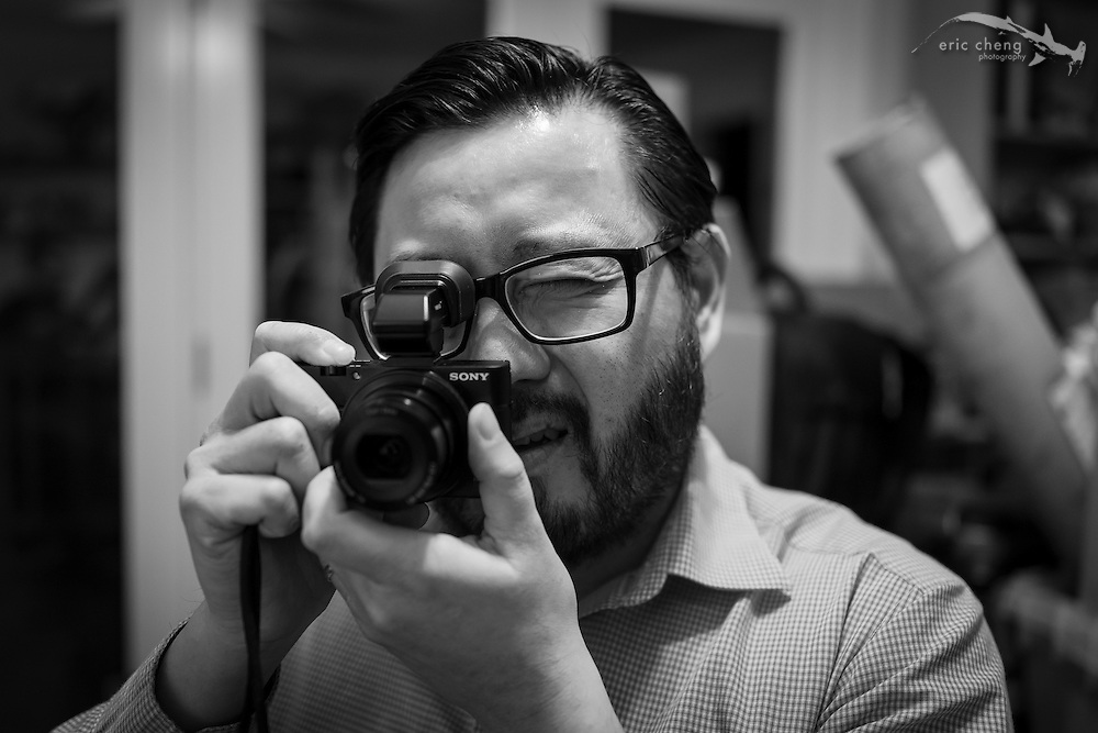 When Chester Yeung and I meet, the chance of both of us whipping out a camera is roughly 100%. Los Altos Hills, California, September 23, 2013.