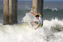 Athletes are seen competing at the Vans US Open of Surfing in Los Angeles, California. NON-EXCLUSIVE Aug 4, 2017. 04 Aug 2017 Pictured: Athletes are seen competing at the Vans US Open of Surfing in Los Angeles, California. Photo credit: PG/BauerGriffin.com / MEGA TheMegaAgency.com +1 888 505 6342
