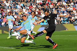 """Foto LaPresse/Filippo Rubin<br /> 03/03/2019 Ferrara (Italia)<br /> Sport Calcio<br /> Spal - Sampdoria - Campionato di calcio Serie A 2018/2019 - Stadio """"Paolo Mazza""""<br /> Nella foto: FABIO QUAGLIARELLA (SAMPDORIA)<br /> <br /> Photo LaPresse/Filippo Rubin<br /> March 03, 2019 Ferrara (Italy)<br /> Sport Soccer<br /> Spal vs Sampdoria - Italian Football Championship League A 2018/2019 - """"Paolo Mazza"""" Stadium <br /> In the pic: FABIO QUAGLIARELLA (SAMPDORIA)"""