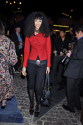 Model JOY VIELI at the Prada Congo Art Party hosted by Miuccia Prada and Larry Gagosian at The Double Club, 7 Torrens Street, London EC1 on 10th February 2009.