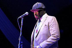 Cheltenham Jazz Festival, Cheltenham, United Kingdom, Gregory Porter, performs in the Big Top at Cheltenham Music Festival, Saturday 04 May, 2013, Photo by: Rosalind Butt / i-Images