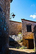 Houses in Castelnou, Pyrenees Orientales, France