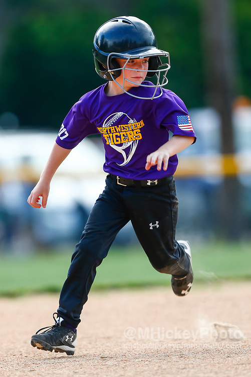 Northwestern Rookie League Baseball at South Side Little League Diamond in Kokomo, In