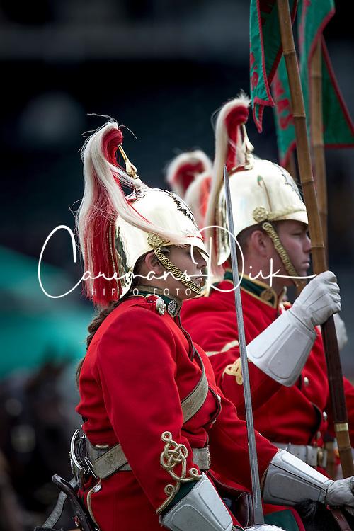 Household Cavalry<br /> CSIO 5* Spruce Meadows Masters - Calgary 2016<br /> © Hippo Foto - Dirk Caremans<br /> 11/09/16