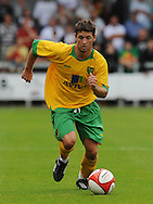 Dartford - Saturday July 11 2009: Wes Hoolahan of Norwich City  during the friendly match at Princes Park. (Pic by Alex Broadway/Focus Images)..