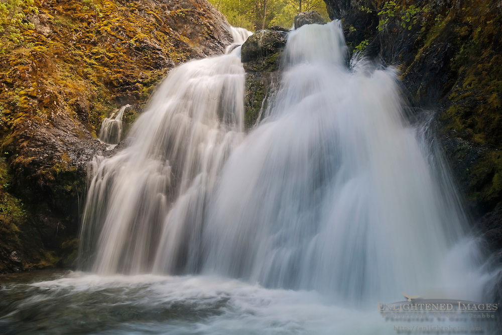 Faery Falls, along Nye Creek, Shasta National Forest, Siskiyou County, California