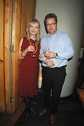 JAN DE VILLENEUVE and CHARLIE PHILLIPS at a dinner hosted by Ruinart in honour of artist Natasha Law held at Soho House, 21 Old Compton Street, London on 16th January 2008.<br /> <br />  (EMBARGOED FOR PUBLICATION IN UK MAGAZINES UNTIL 1 MONTH AFTER CREATE DATE AND TIME) www.donfeatures.com  +44 (0) 7092 235465
