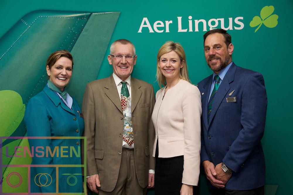 Muriel Cooke - Aer Lingus<br /> Don Harris - Talkback<br /> Yvonne Muldoon - Aer Lingus<br /> Mark Tinney - Aer Lingus