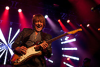 Richie Sambora performs a benefit concert for Hurricane Sandy victims on November 13, 2012 at the Fonda Theater in Hollywood, California.   All ticket sale profits were donated to the American Red Cross Hurricane Sandy Fund.