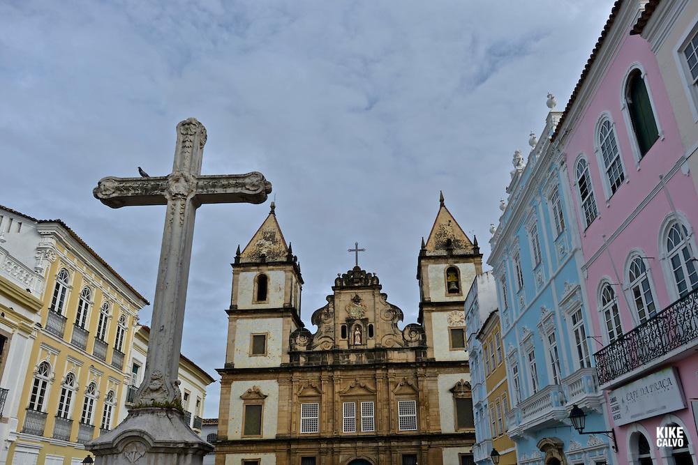 Terreiro de Jesus, Pelorinho area, Salvador da Bahia, Bahia State, Brazil