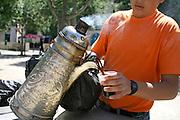 street coffee vendor,bethlehem, west bank, palestine, israel