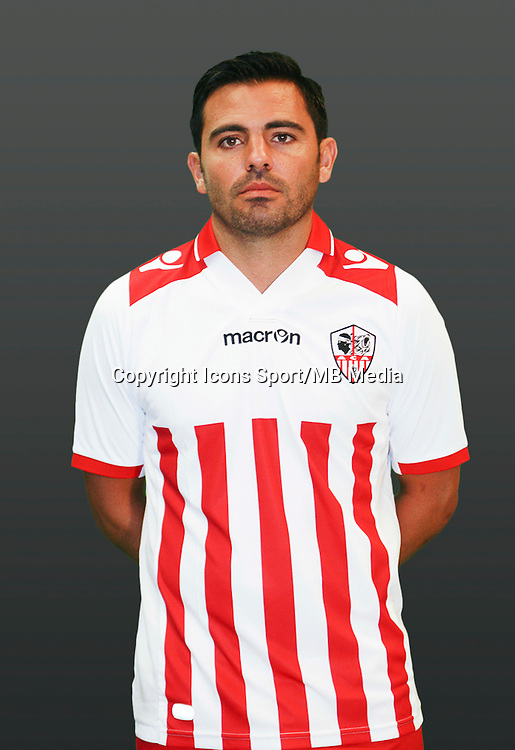 Johan CAVALLI - 21.09.2014 - Photo officielle AC Ajaccio - Ligue 2<br /> Photo : Icon Sport