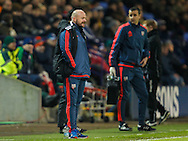 Brentford Head Coach Lee Carsley during the Sky Bet Championship match between Bolton Wanderers and Brentford at the Macron Stadium, Bolton<br /> Picture by Mark D Fuller/Focus Images Ltd +44 7774 216216<br /> 30/11/2015