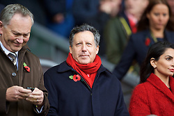 LIVERPOOL, ENGLAND - Saturday, November 8, 2014: Liverpool's co-owner and NESV Chairman Tom Werner during the Premier League match against Chelsea at Anfield. (Pic by David Rawcliffe/Propaganda)