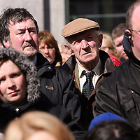 during the hospital protest rally in Ennis on Satruday.<br /> Photograph by Yvonne Vaughan