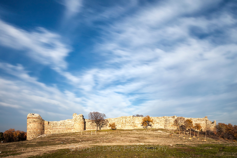 Ancient Byzantine fortress