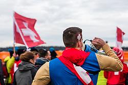 Men Under 23 race, 2020 UCI Cyclo-cross Worlds Dübendorf, Switzerland, 1 February 2020. Photo by Pim Nijland / Peloton Photos | All photos usage must carry mandatory copyright credit (Peloton Photos | Pim Nijland)