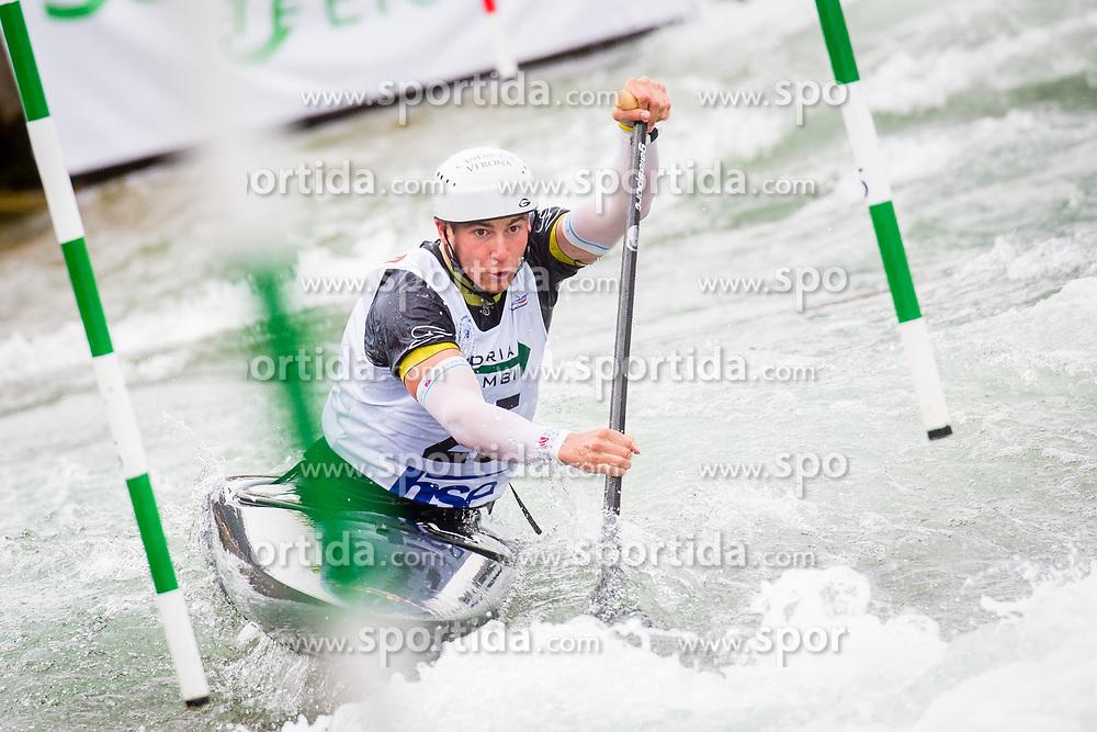 Raffaello Ivaldi (ITA) in Half finals during Day 4 of 2017 ECA Canoe Slalom European Championships, on June 3, 2017 in Tacen, Ljubljana, Slovenia. Photo by Ziga Zupan / Sportida