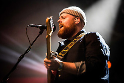 June 17, 2018 - Landgraaf, Limburg, Netherlands - Tom Walker performing live at Pinkpop Festival 2018 in Landgraaf Netherlands, on June 17, 2018. (Credit Image: © Roberto Finizio/NurPhoto via ZUMA Press)