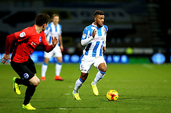 Elias Kachunga of Huddersfield Town runs with the ball - Mandatory by-line: Robbie Stephenson/JMP - 02/02/2017 - FOOTBALL - John Smith's Stadium - Huddersfield, England - Huddersfield Town v Brighton and Hove Albion - Sky Bet Championship