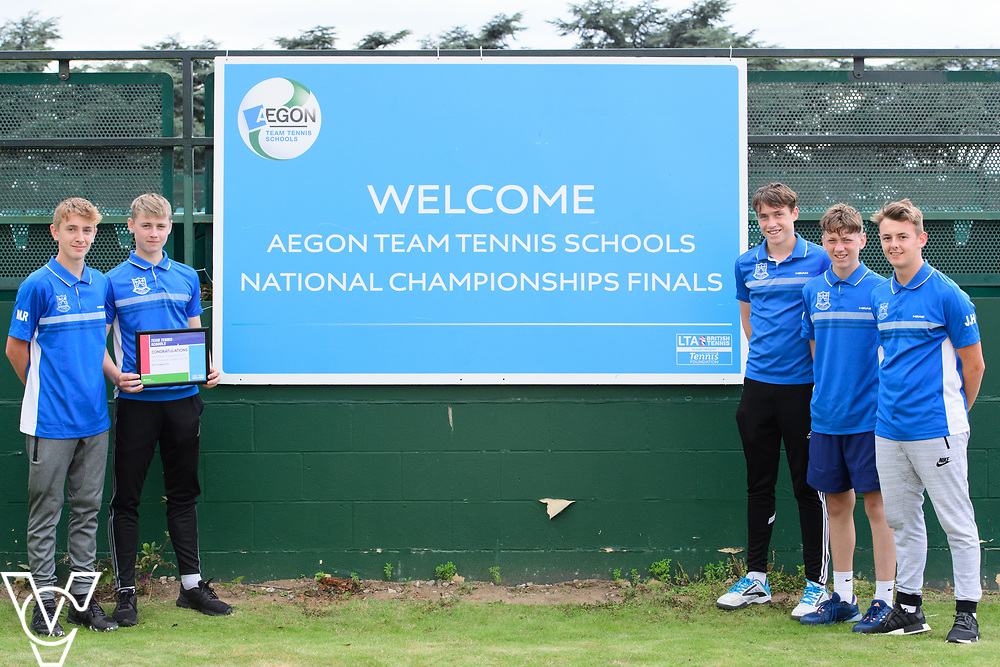 St Peter's RC High School<br /> <br /> Team Tennis Schools National Championships Finals 2017 held at Nottingham Tennis Centre.  <br /> <br /> Picture: Chris Vaughan Photography for the LTA<br /> Date: July 14, 2017