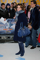 Natasha Kaplinsky arrives at the European premiere of Happy Feet Two at Empire Cinema, Leicester Sqaure.London, Sunday November 20, 2011. Photo By i-Images