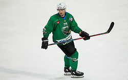 Ales Kranjc of SZ Olimpija during ice hockey match between HK SZ Olimpija and WSV Sterzing Broncos Weihenstephan (ITA) in Round #12 of AHL - Alps Hockey League 2018/19, on October 30, 2018, in Hala Tivoli, Ljubljana, Slovenia. Photo by Vid Ponikvar / Sportida