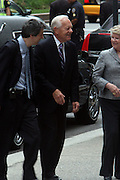 Bob Schiffer arrives at the Walter Cronkite funeral at The St. Bartholomew Church on July 23, 2009 in New York City