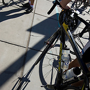 Riders, bicycles, and shadows at 2009 El Tour de Tucson. Bike-tography by Martha Retallick.