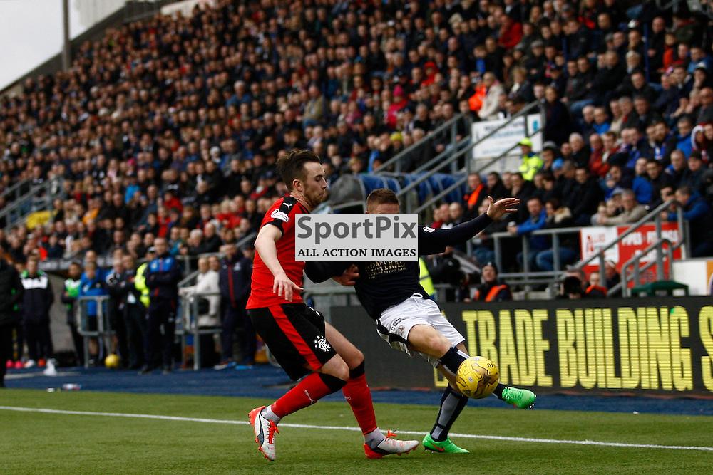 John Baird on the ball in the Falkirk v Rangers Falkirk Stadium 19 December 2015<br /><br />(c) Russell G Sneddon / SportPix.org.uk