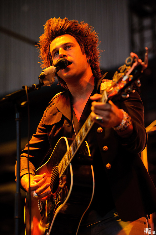 Ryan Cabrera performs at the Bamboozle Music Festival. Meadowlands Sports Complex, East Rutherford, NJ.  April 30, 2011. Copyright © 2011 Chris Owyoung.