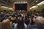 Nederland, Nijmegen, 13-1-2017Jesse Klaver spreekt voor een volle VereenigingFoto: Flip Franssen