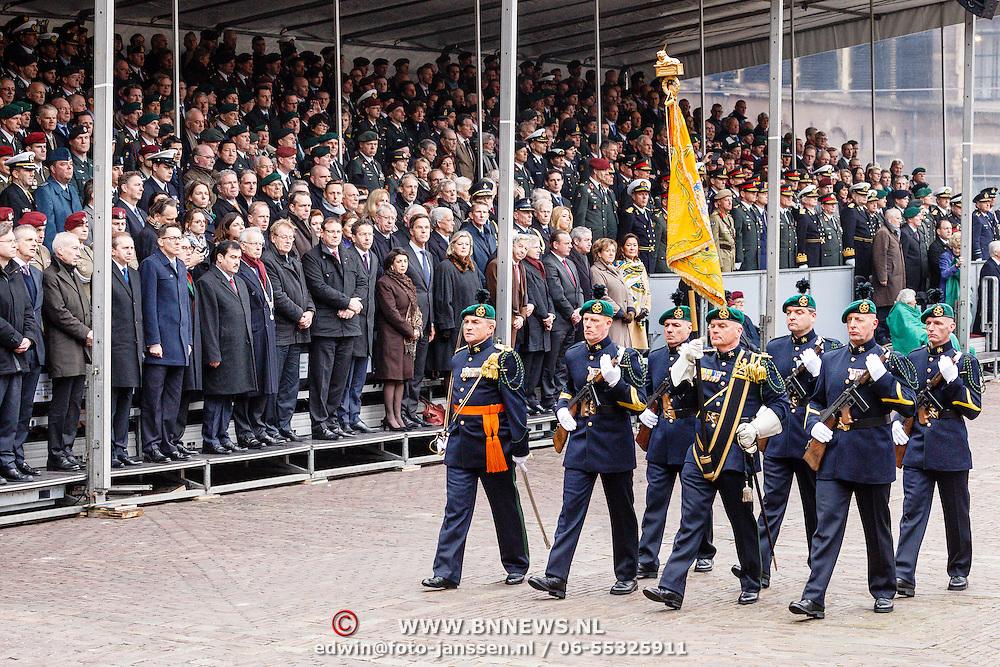 NLD/Den Haag/20160315 - Uitreiking Militaire Willemsorde aan Korps Commando Troepen,