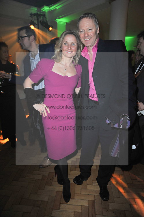 RORY & TESSA BREMNER at the press night of the new Andrew Lloyd Webber  musical 'The Wizard of Oz' at The London Palladium, Argylle Street, London on 1st March 2011 followed by an aftershow party at One Marylebone, London NW1