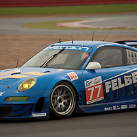 #77 Porsche 997 GT3 RSR - Team Felbermayr Proton (Drivers - Marc Lieb and Richard Lietz) GT2, Le Mans Series Silverstone 1000KM 2010