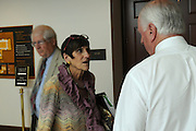 United States Congresswoman Rosa DeLauro, 69, a Democrat representing Connecticut's Third district. She is currently in her eleventh term, having been in Congress for twenty one years...DeLauro talks to a congressional colleague near the visitor center after a meeting with the Democratic party leadership on the day the Democrats unanimously agreed not to support the Republican Party's congressional plan to raise the debt ceiling.