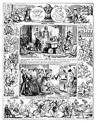 Punch Almanack 1848 March - April