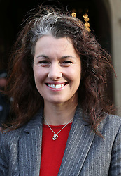Sarah Champion, the new Labour MP for Rotherham arriving at the House of Commons in London,  Monday, 3rd December 2012. Photo by:  Stephen Lock /  i-Images