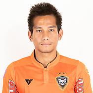 THAILAND - JUNE 25: Attapong Nooprom #13 of Nakhonratchasrima Mazda FC on June 25, 2019.<br /> .<br /> .<br /> .<br /> (Photo by: Naratip Golf Srisupab/SEALs Sports Images/MB Media Solutions)
