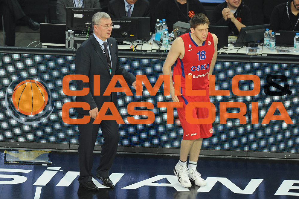 DESCRIZIONE : Istanbul Eurolega Eurolegue 2011-12 Final Four Finale Final CSKA Moscow Olympiacos<br /> GIOCATORE :  Kazlauskas<br /> SQUADRA : CSKA Moscow<br /> CATEGORIA : cambio<br /> EVENTO : Eurolega 2011-2012<br /> GARA : CSKA Moscow Olympiacos<br /> DATA : 13/05/2012<br /> SPORT : Pallacanestro<br /> AUTORE : Agenzia Ciamillo-Castoria/GiulioCiamillo<br /> Galleria : Eurolega 2011-2012<br /> Fotonotizia : Istanbul Eurolega Eurolegue 2010-11 Final Four Finale Final CSKA Moscow Olympiacos<br /> Predefinita :