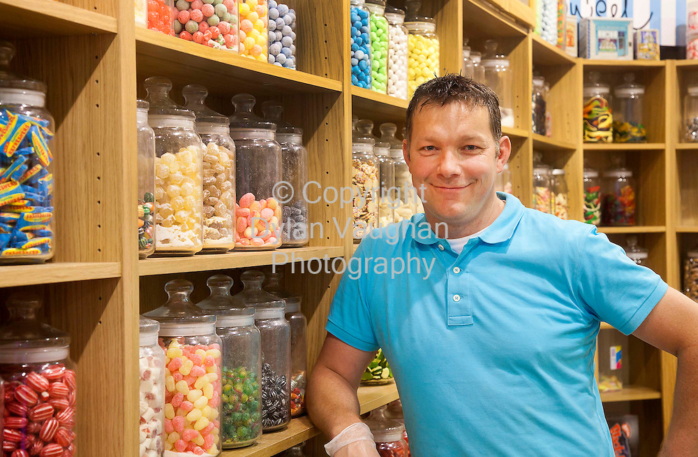 2/6/2010.Brian Kenny pictured at The Slip Sweet Shop in Kilkenny..Photograph Dylan Vaughan.